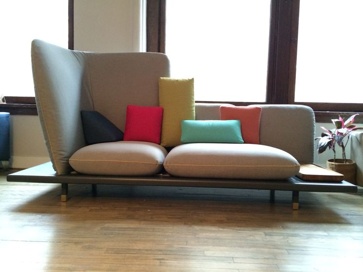 A Sofa Designed With Manhattan In Mind