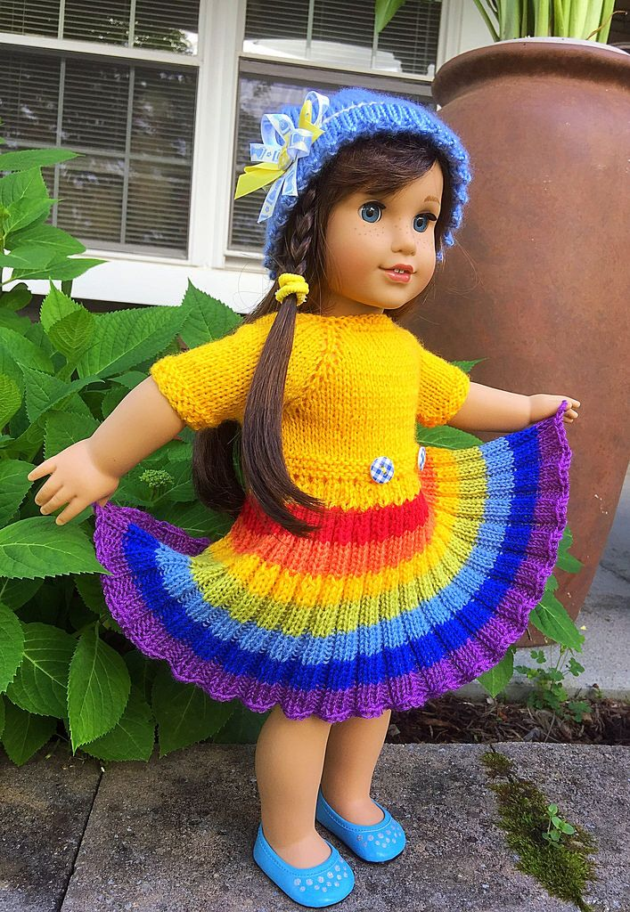 This is just a flickr stream - would LOVE to find a pattern for something like this - AG doll