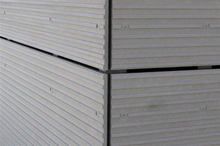 EQUITONE [linea] facade panel. Corner detail. equitone.com