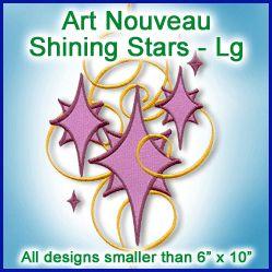 A Art Nouveau Shining Stars Design Pack - Lg