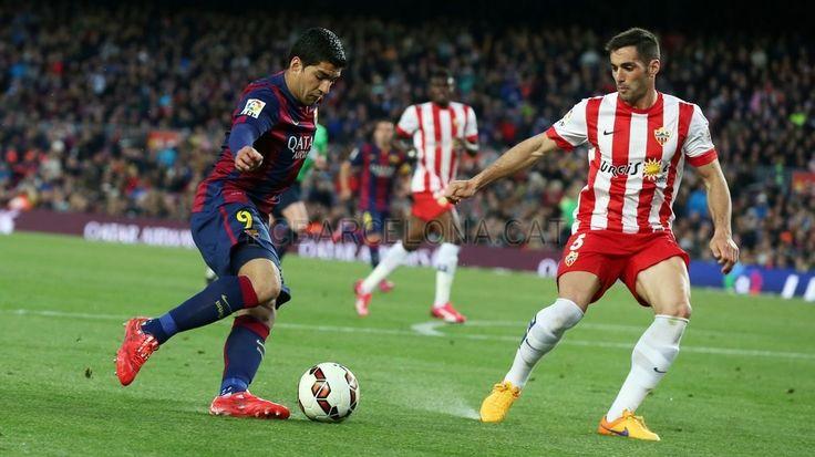 FC Barcelona 4 - 0 UD Almería #FCBarcelona #Game #Match #Football #FCB #Liga