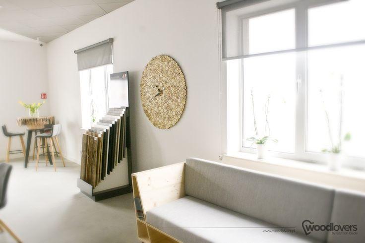 Wooden clock LITTLE 1m+ | Woodlovers - Szymon Gacki