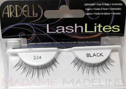 Ardell Lashlites #334 have an invisible lightweight band to blend seamless with your own lashes. Handmade from 100% premium sterilized human hair, draw attention to your eyes with understated volume and length. #ArdellLashes #LashLites #ArdellLashLites