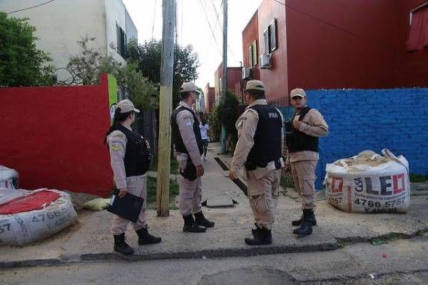 Operativos de seguridad en San Isidro