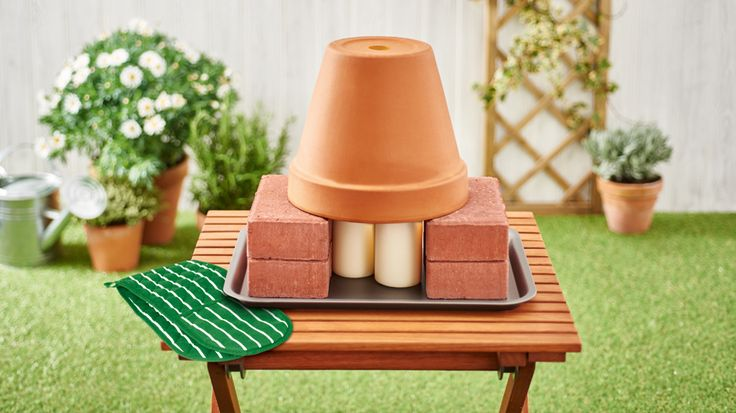 Stay toasty during chilly alfresco evenings with this DIY outdoor heater.