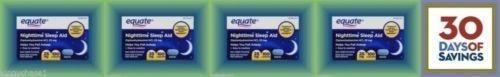 Sleeping Pills: Nighttime Sleep Aid 25Mg 400 Mini Caplets Diphenhydramine Hci Melatonin BUY IT NOW ONLY: $36.68