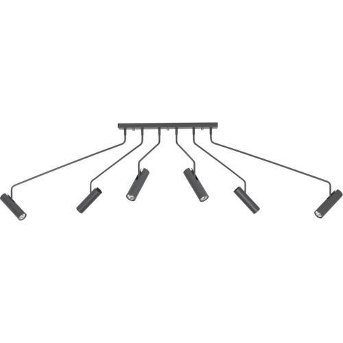 Moderner-Deckenlampe-Deckenleuchte-Leuchte-Lampe-6-flg-EYE-6498 - moderne deckenleuchten fur wohnzimmer