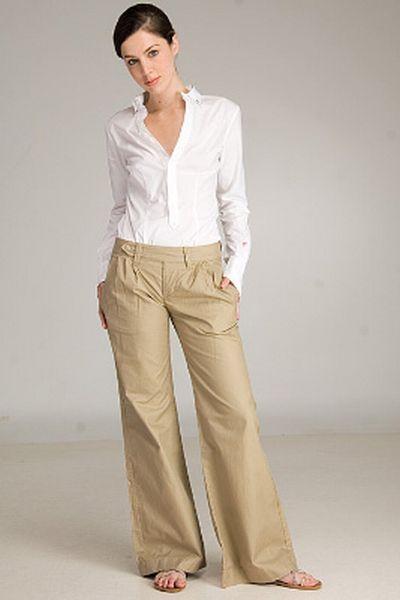 The 25  best Khaki pants for women ideas on Pinterest