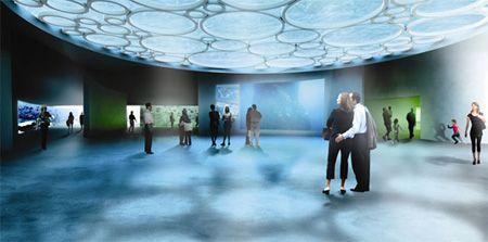 the blue denmark planet aquarium