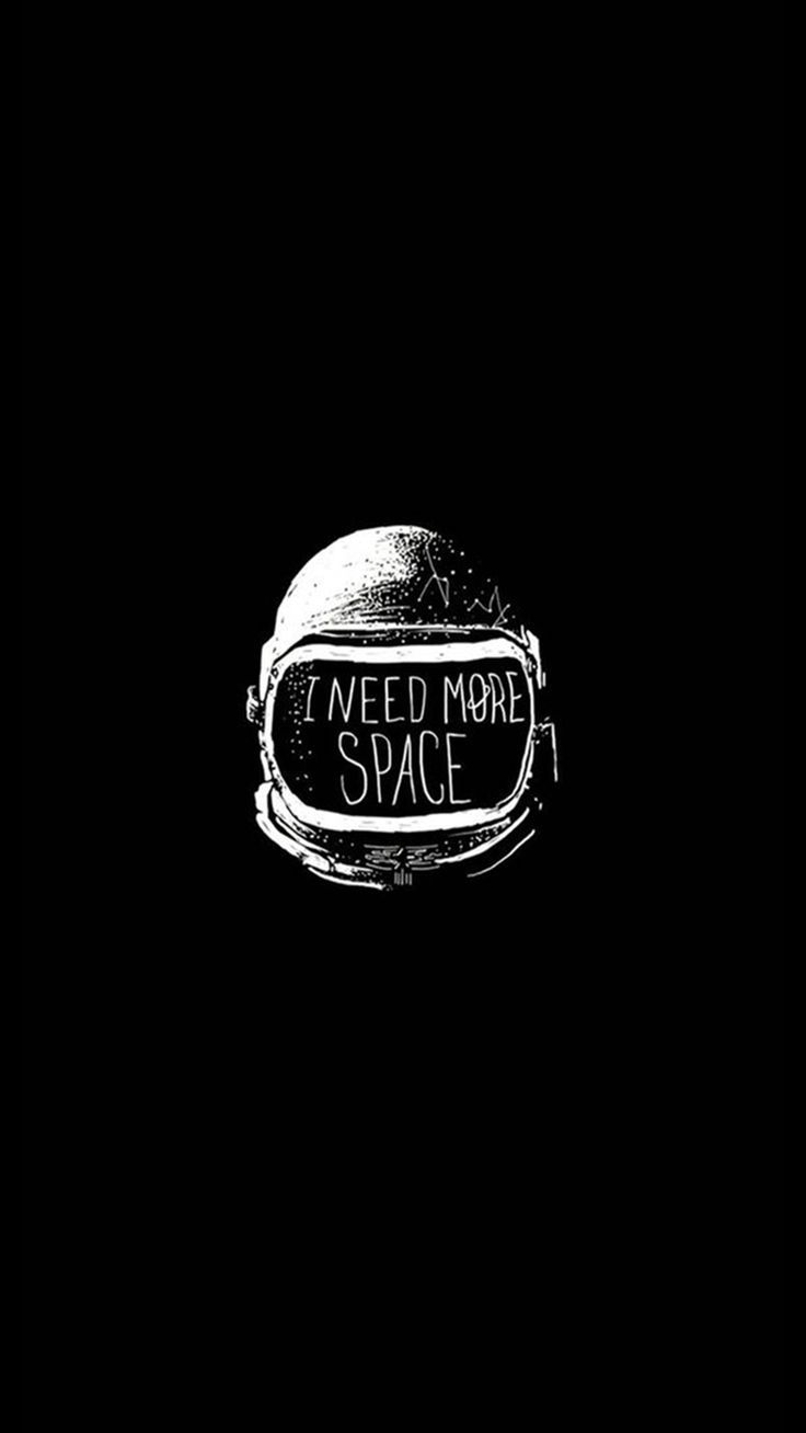Space Helmet I Need More Space Iphone 8 Wallpaper