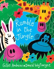 This chunky board book edition of a bestselling picture book is packed with favourite animals. So come into the jungle for a noisy, rhyming animal romp all little ones will love.