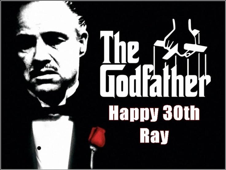 Godfather Cake Topper