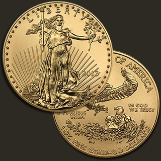 1 Troy ounce Eagle goud 2013