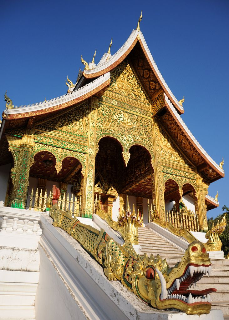 Haw Pha Bang Temple . Luang Prabang, Laos