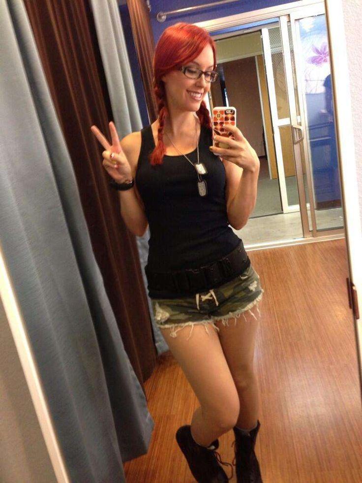 Meg Turney Can Wear Camo Shorts
