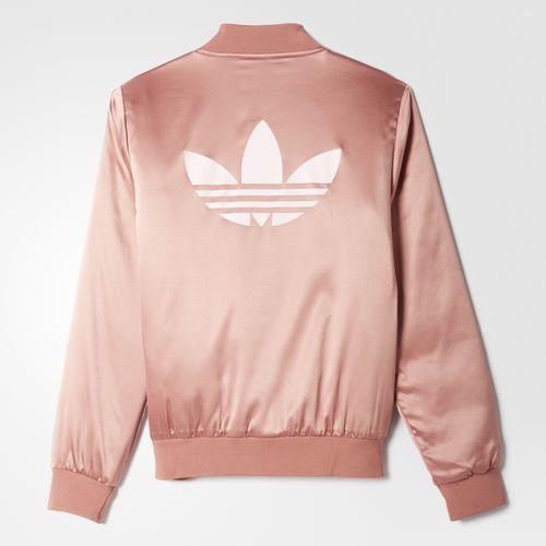 adidas - Pastel Camo Satin Track Jacket  $85