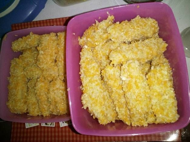 Nugget Ayam Wortel Keju (menu anak)
