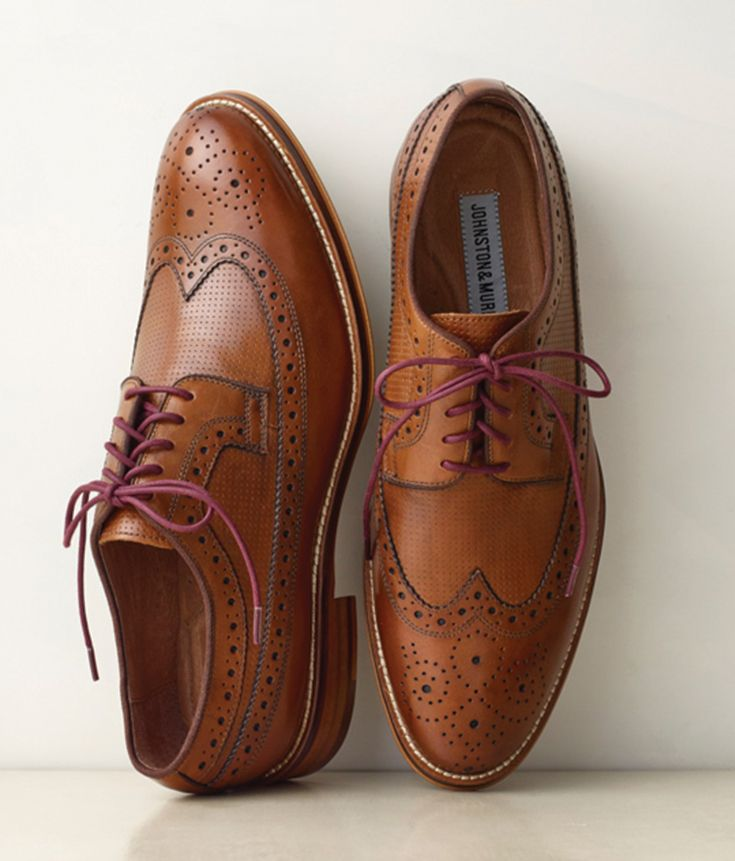 Johnston & Murphy: The men's dress shoes you'll never want to take off.