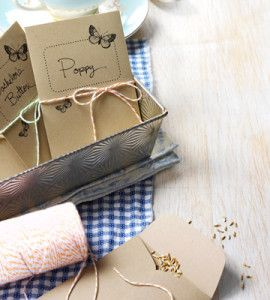 DIY Seed Packets:  Package your favorite seeds in these easy-to-make DIY Seed Packets to give as gifts or use as fun favors. countrywomanmagazine.com