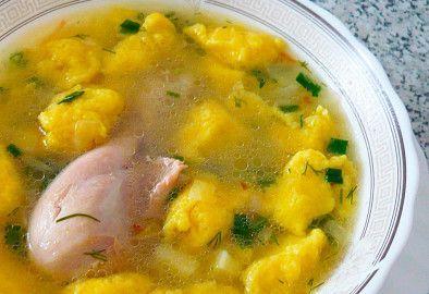 Суп с галушками рецепт приготовления