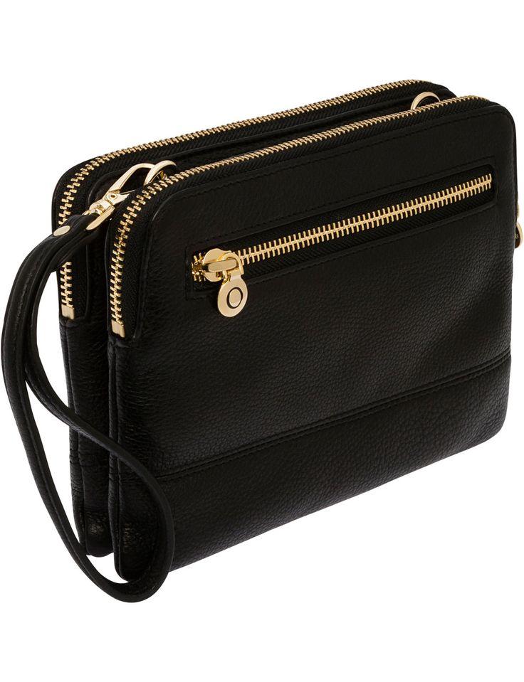 Oroton S15 Bueno Double Clutch Bag | David Jones