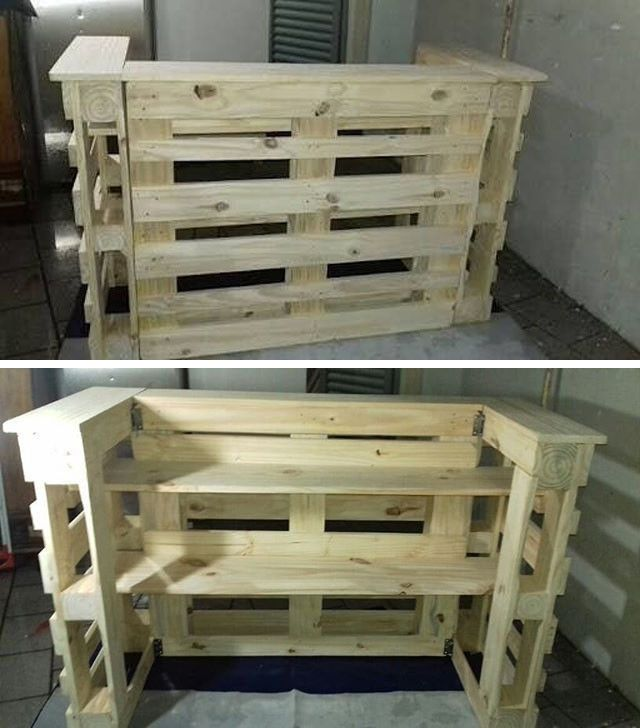 Top 25+ Eye Catching Wood Pallet Projects – Sensod – Create. Connect. Brand.