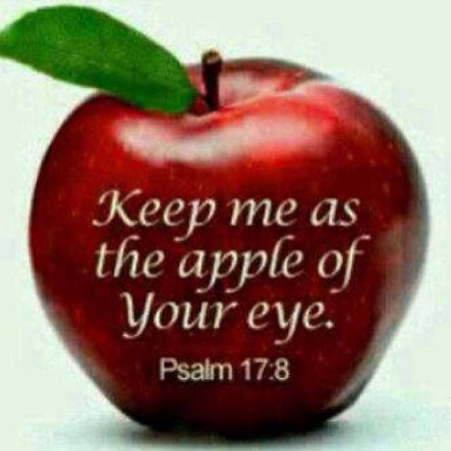 Bible Verse You Are Apple My Eye