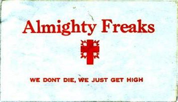 Chicago Gang Calling Cards from the '70s and '80s. True, yet strangely sacreligious!
