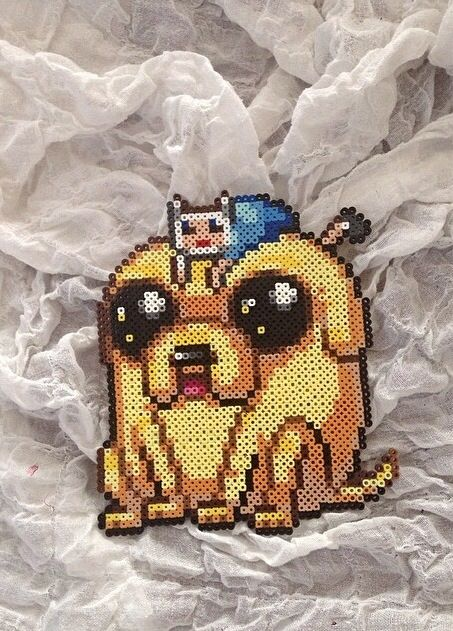 Adventure time perler