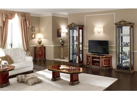 Special Price: £399.99   Camel Group Luxor Mahogany Italian Coffee Table