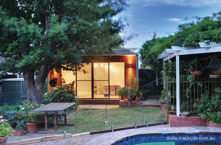Hidden retreat in your own backyard. Stylish
