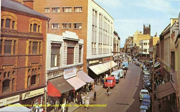 Dudley Street 1960s - from Black Country History