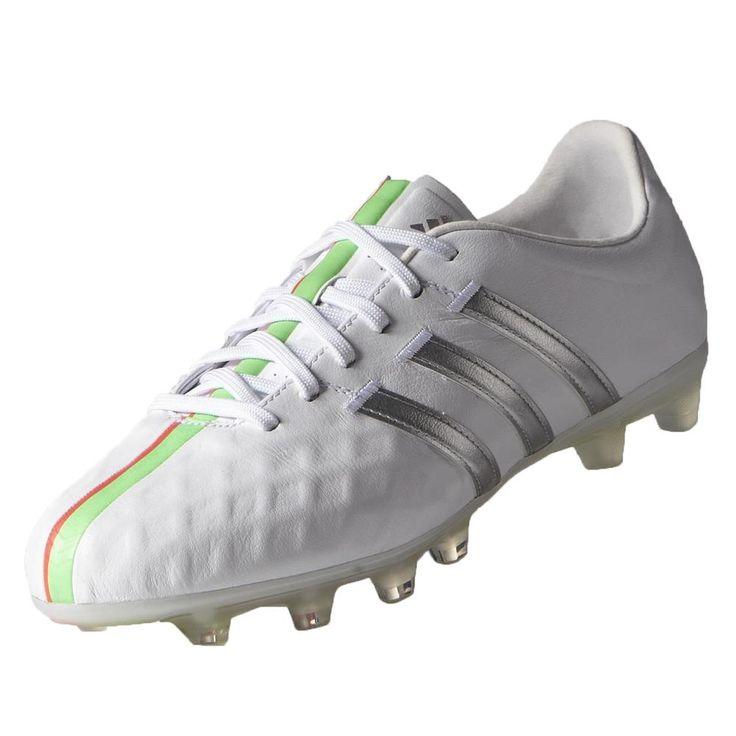 adidas Women\u0026#39;s 11Pro FG - Running White / Metallic Silver - Women\u0026#39;s Soccer