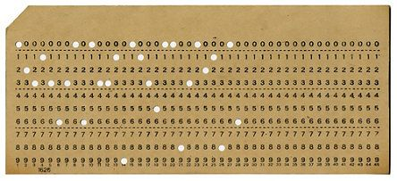 Punched Cards: From Math to Data Slide Show | Computer History Museum