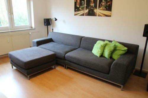 IKEA Kramfors Sofa und Hocker günstig grau in Essen - Essen ...