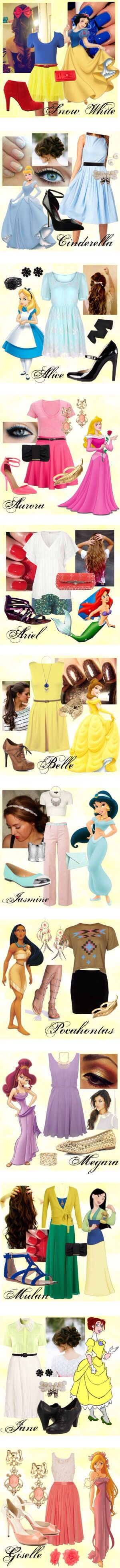 Always wanted to dress like a Disney priness!
