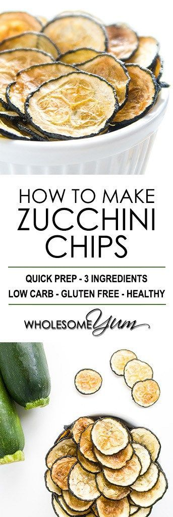 How To Make Zucchini Chips – Baked Zucchini Chips Recipe - This baked zucchini chips recipe is so easy! Learn how to make zucchini chips with just 3 ingredients. Naturally low carb, gluten-free, and paleo.