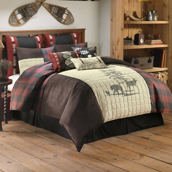 19 best images about lumberjack themed bedroom on pinterest canvas prints plaid quilt and. Black Bedroom Furniture Sets. Home Design Ideas