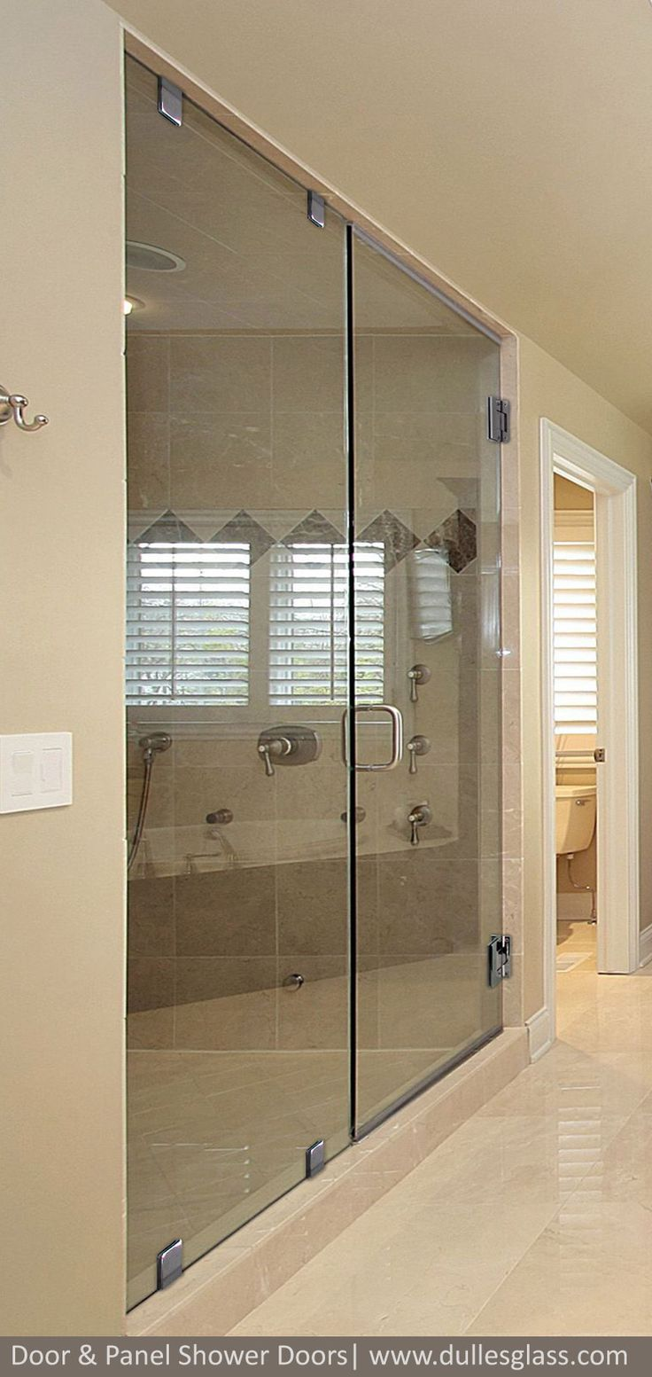 Frameless Door And Panel Shower Doors From Dulles Glass   High Quality  Shower Doors For The Washington, DC Metropolitan Area.
