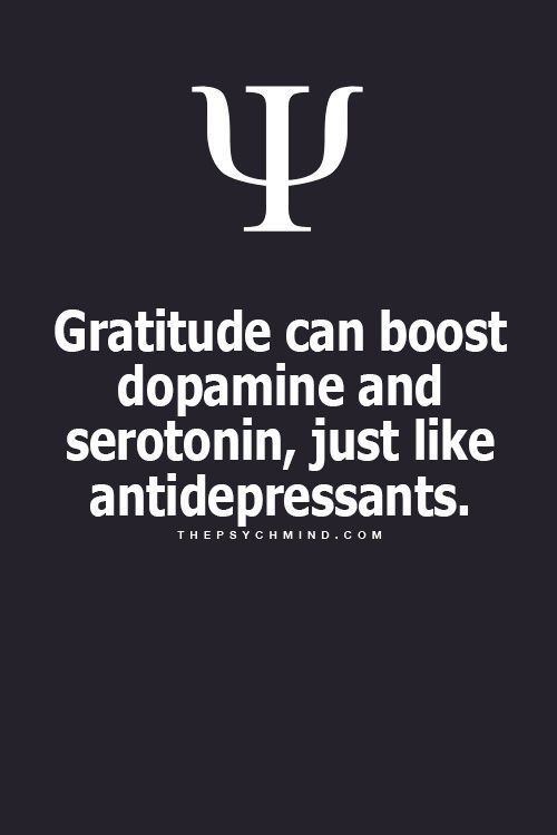 when we're truly in a state of gratitude, it's tough to be depressed ... it truly is. for our own health and sake, let us practice gratitude throughout each day.