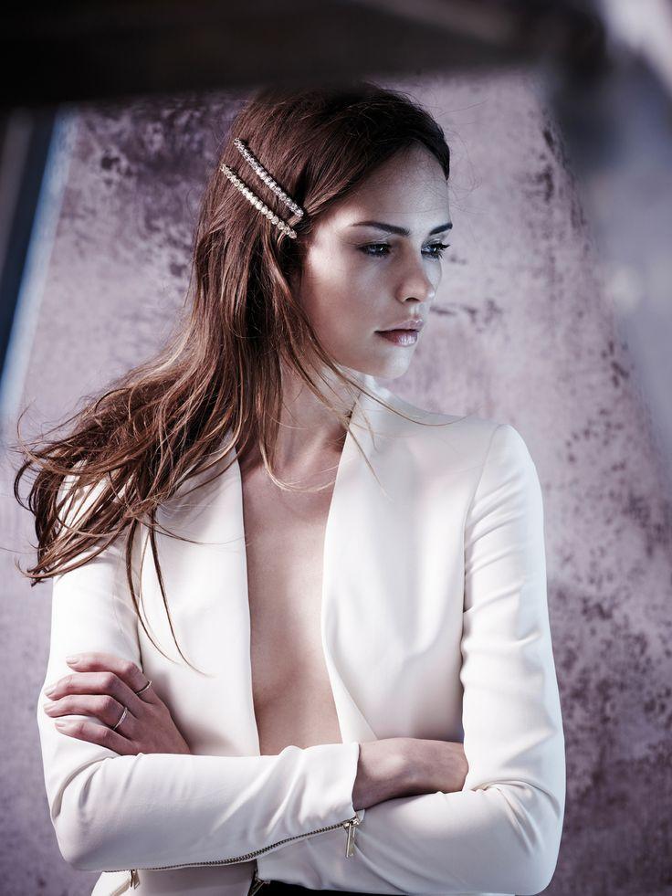 """Alexandre de Paris hair accessories Barrette """"Désir"""" www.alexandredeparis-store.com #barrette #hair #accessory"""