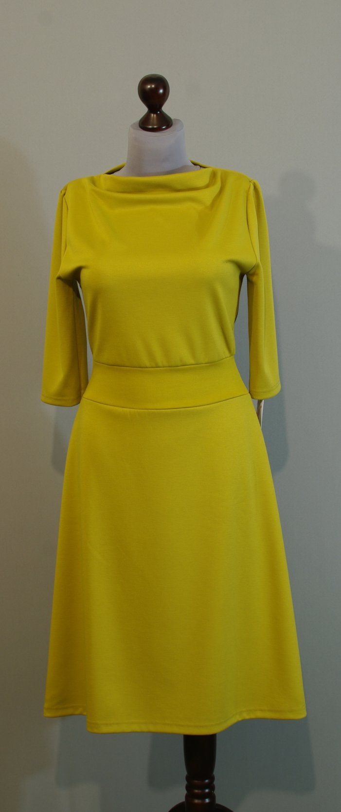 Оливковое платье трапеция, Украина сайт Платье-терапия (171)