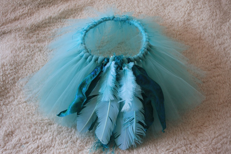 Jewel from Rio - Turquoise mini tutu with Tail Feather Bustle - Reserved for Judith. $35.00, via Etsy.