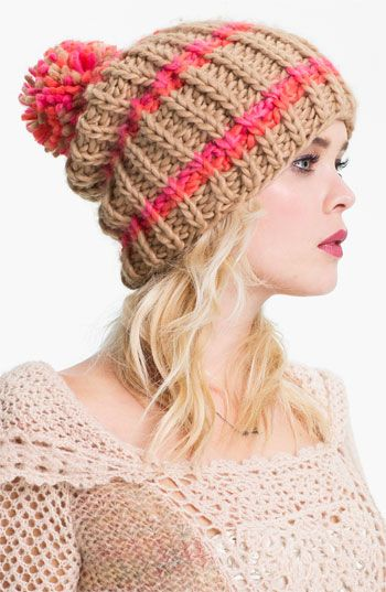 Free People Chunky Knit Beanie | Nordstrom