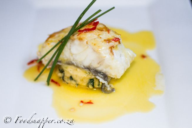 Kingklip With Orange And Chilli Butter Recipe
