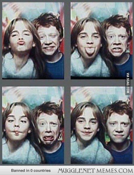 Rupert and Emma: The Early Years :) - - Harry Potter Memes and Funny Pics - MuggleNet Memes