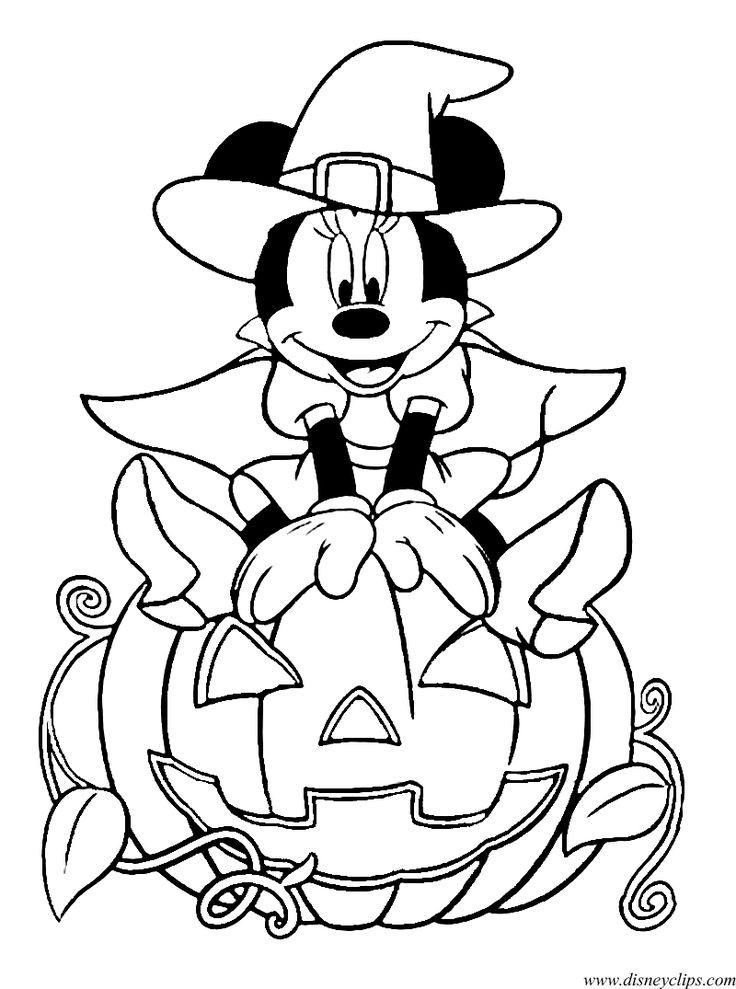 - Coloring Sheet Of Minnie Mouse Halloween Coloring Sheets, Free Halloween  Coloring Pages, Disney Halloween Coloring Pages