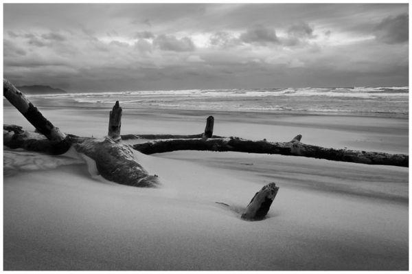 Waihi Beach - New Zealand. by annmarie