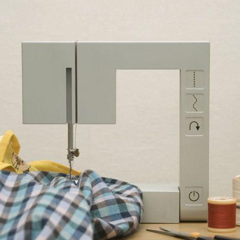 Foldable Sewing Machine by Richard Burrow