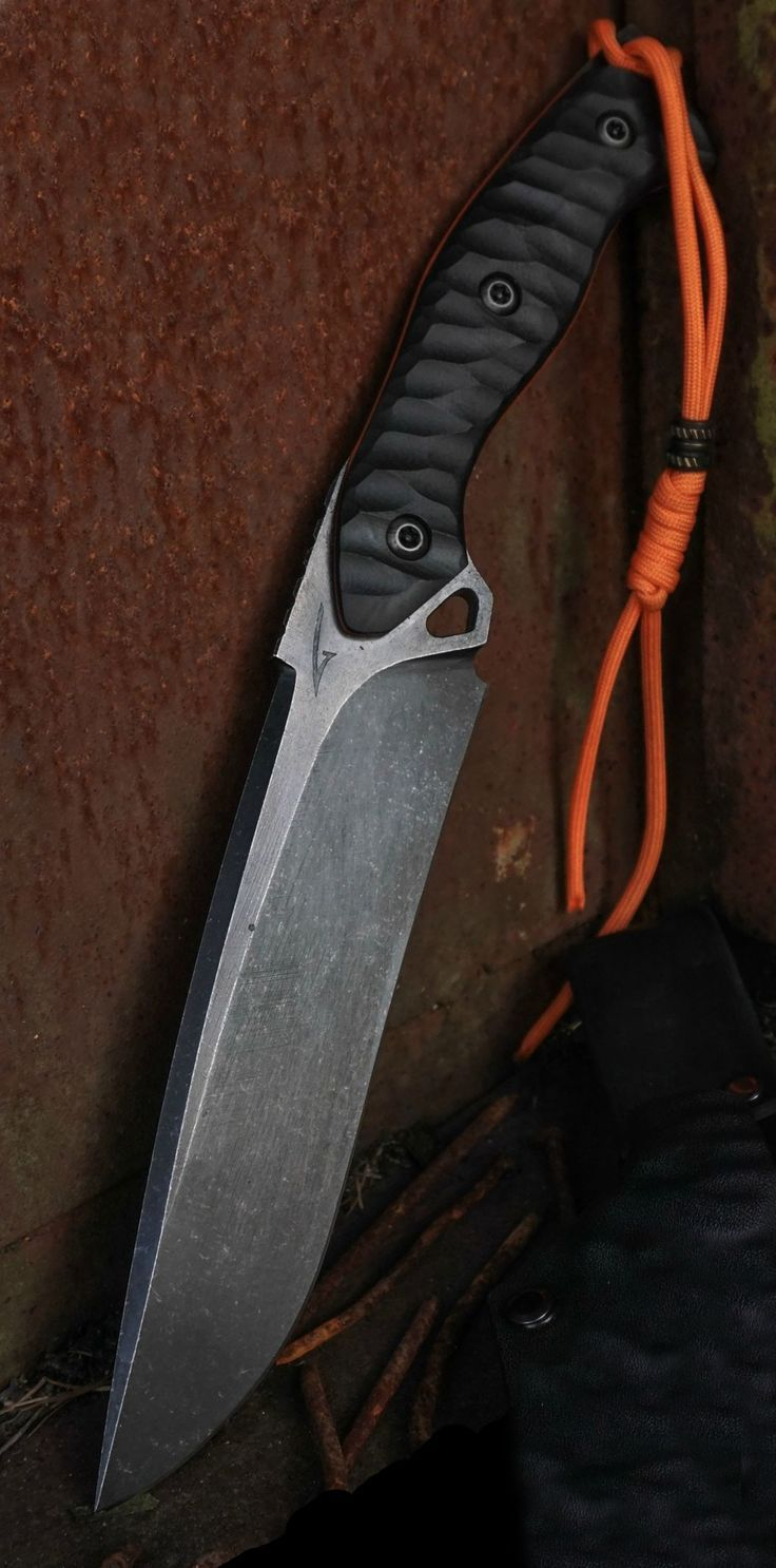 Torbe Custom Knives Checkmade XXL Fixed Blade Knife @aegisgears    hunting knife | Bowie knife | camping knife | swiss army knife | spyderco | cold steel | benchmade | best pocket knife | edc knife | gerber folding knife | gerber pocket knife